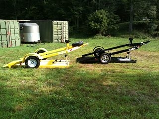 Blue Ridge Tire >> The Razor Motorcycle Trailer, ground loading motorcycle trailer for all, trikes, spyders.